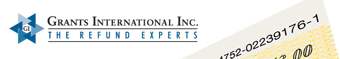 Grants International Inc. The Refund Experts.